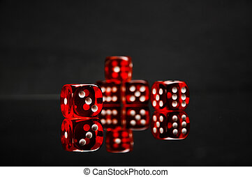 Casino theme with ambient light - Gambling games