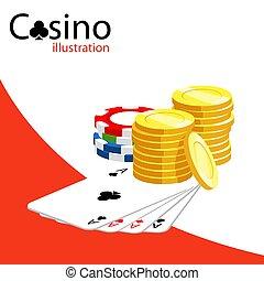 Casino vector illustration