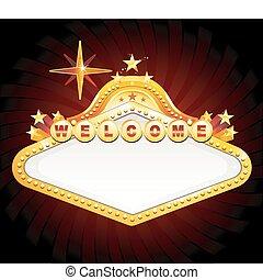 casino, vegas, signe