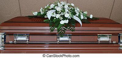 casket.