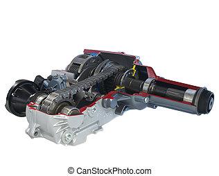 caso, automobile, parts:, trasferimento