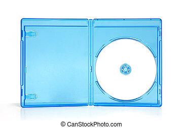 caso, caja, blueray