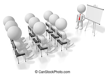 caso, conferenza, concetto, study/, seminar/, training/, 3d
