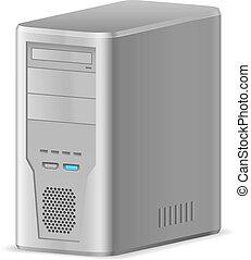 caso, de, computador