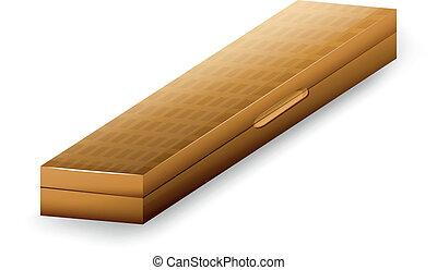 caso, de madera