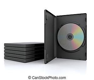 caso, dvd, 3d