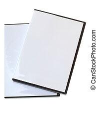caso, dvd, blanco, blanco
