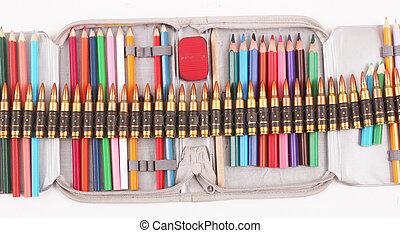 caso, lápiz