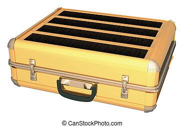 caso, oro, alluminio