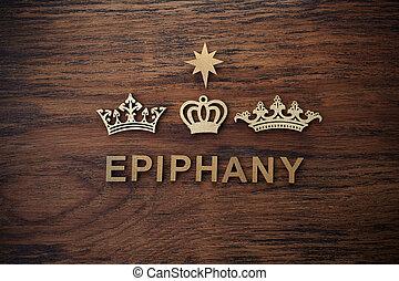 caspar, bethlehem., rois, day., melchior, balthazar., étoile, trois, fond