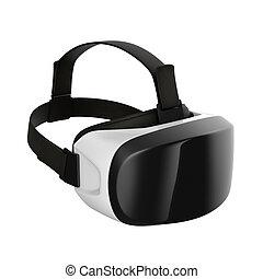 casque à écouteurs, réalité virtuelle