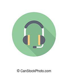 casque à écouteurs
