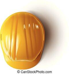 casque, 2, jaune