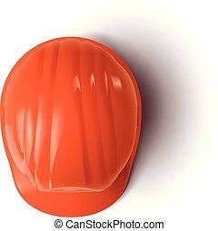 casque, 2, orange