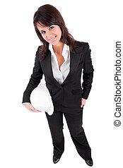 casque, affaires femme, tenue