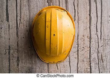 casque, construction