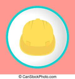 casque, vecteur, construction, conception, logo, icône