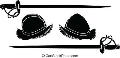 casques, espagnol