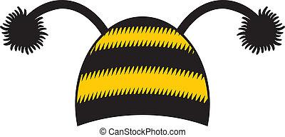 casquette, abeille