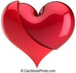 cassé, aimez coeur