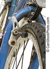 cassé, vélo, freins