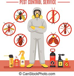 casse-pieds, illustration, service, contrôle