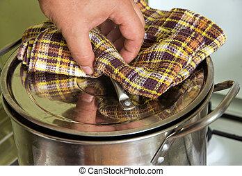 casserole, bouillir