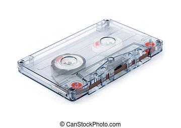 cassete, áudio, fita