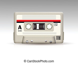 cassete áudio