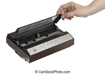 cassette answering machine