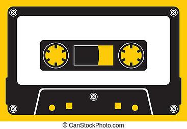 cassette, audio, bande