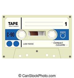 cassette, audio, cassette