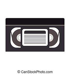 cassette, bande vidéo