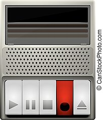 cassette, oud