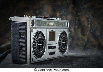 Cassette radio 1