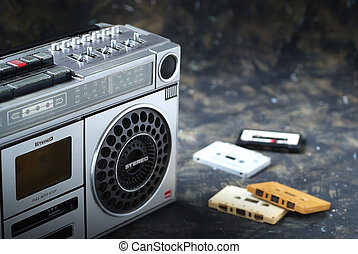 Cassette radio 2