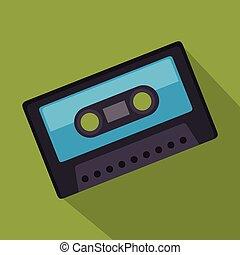 cassette record music sound design
