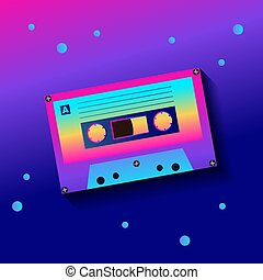 cassette sonore, conception, vendange, style