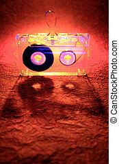 Cassette tape - Music cassette tape