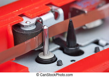 cassette tape transport mechanism