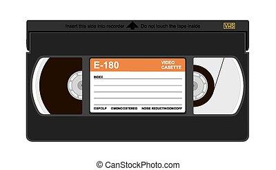 cassette, vhs