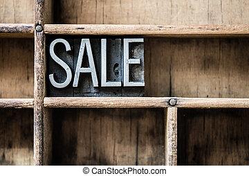 cassetto, tipo, vendita, letterpress