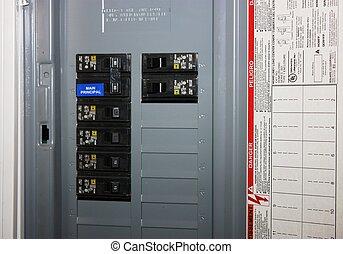 casseur, circuit électrique
