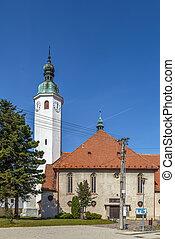 casta, s., iglesia, imrich, eslovaquia