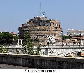 castel, ローマ, 古い, sant'angelo, aurelius, 墓, 皇帝