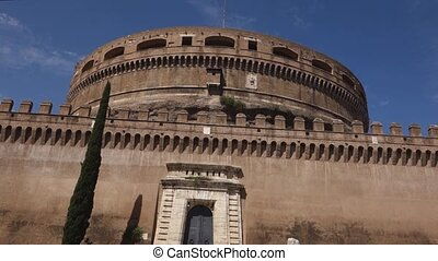 Castel Sant Angelo - Hadrian Mausoleum in Rome, Italy