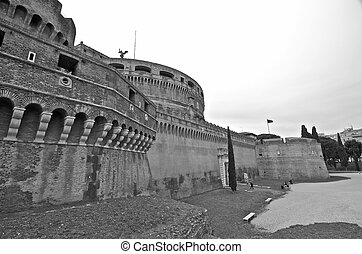 Castel Santangelo in Rome, Italy - Castel Sant'Angelo in ...