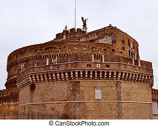 Castel Sant'Angelo, Rome - The Castel Sant'Angelo Mausoleum ...