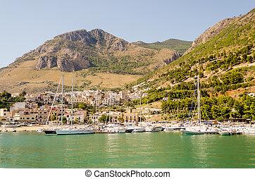 Castellammare del Golfo, Sicily - Castellammare del Golfo, a...