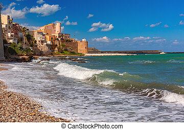 Castellammare del Golfo, Sicily, Italy - Sunny medieval ...